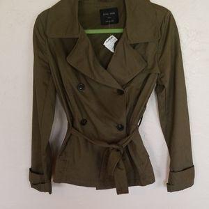 Love Tree Short Trench coat